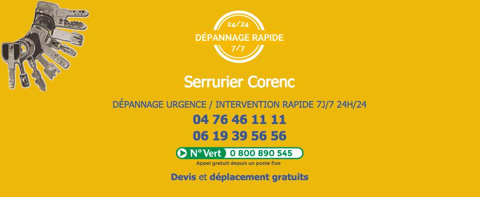 serrurier-corenc
